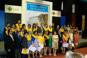 "The students of the Medium Vocational Training Course ""Technician in Health Care Emergencies"" graduated last 6, June."